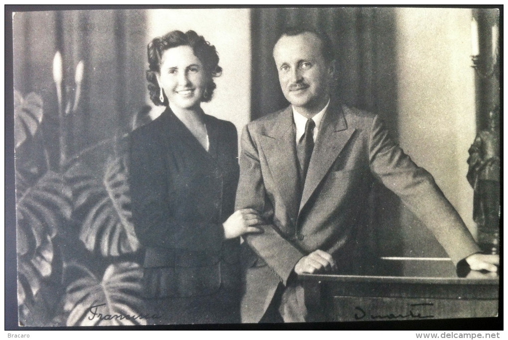 PORTUGAL King Queen Prince Duque Bragança D. DUARTE & D. FRANCISCA - Heirs Portuguese Crown (SEE 2 PHOTOS CAREFULLY) - Familles Royales