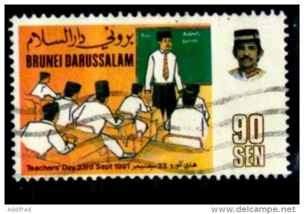 Brunei Scott N°429.oblitéré.. - Brunei (1984-...)