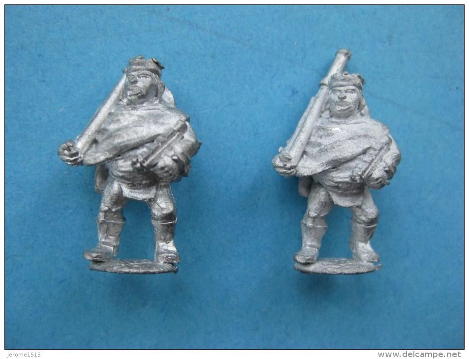 2 Figurines En Plomd 20 Mm : Méxicains Du Futur - Non Classés