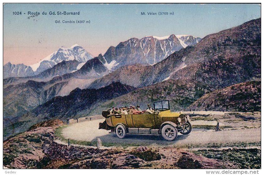 Route Du Gd St Bernard, Bus Postal (1024) - VS Wallis