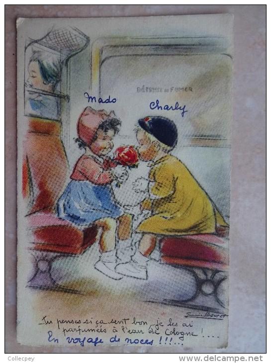 CPA Illustrateur Germaine BOURET Tu Parles Si ça Sent Bon..... - Bouret, Germaine