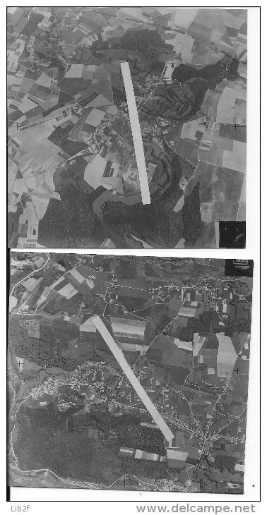 Flandres Flandern Belgique 14/05/1940 Tavier Province De Namur Commune D´eghezee Walonnie 9 Vues Aériennes 39-45 Ww2 Wk2 - War, Military