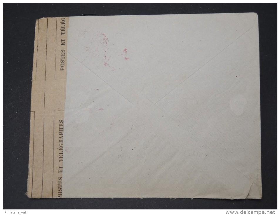 ESPAGNE- Enveloppe De Barcelone Pour La France Avec Censure Militaire Francaise   P4615 - Cartas