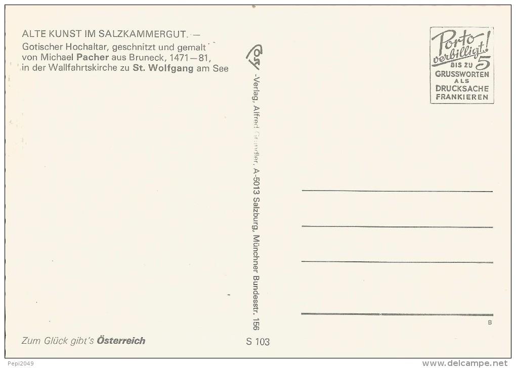 PP343 - POSTAL - ALTE KUNST IM SALZKAMMERGUT - Sin Clasificación