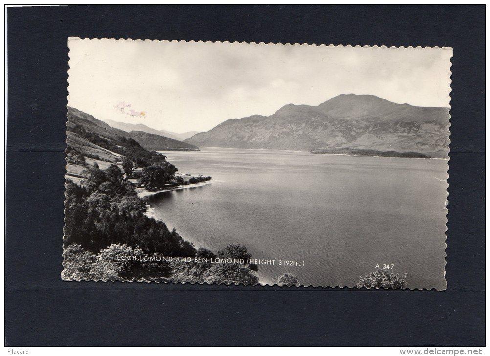 53551    Regno  Unito,  Loch Lomond And  Ben  Lomond,  VG  1968 - Argyllshire