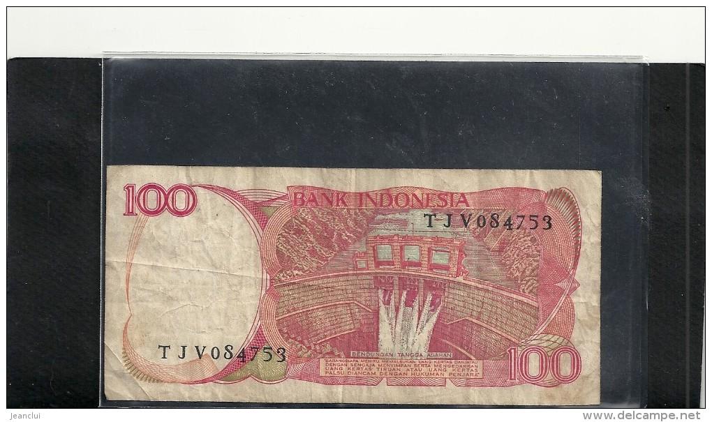 --BANK INDONESIA---100 SERATUS RUPIAH---1984-- - Indonésie