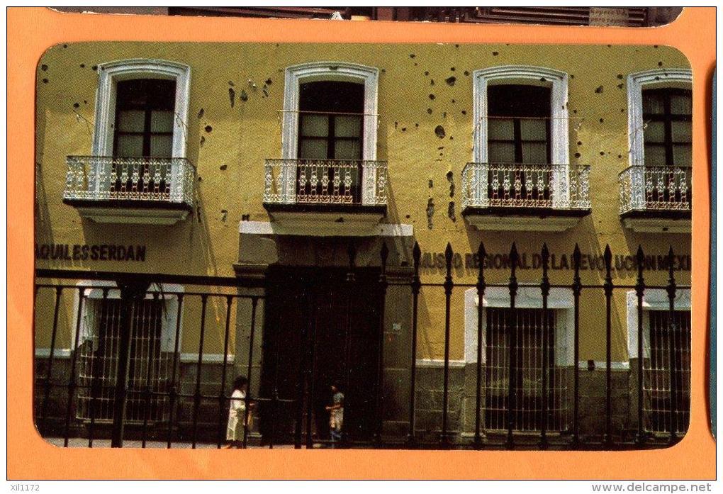 EZA-10  FAchada De La Casa De Los Hermanos Serdan, Puebla, Mexico Non Used. - Mexique