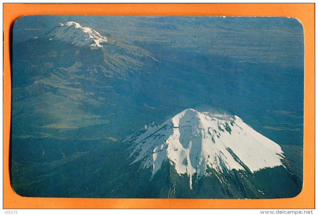 EZA-11  Volcanes Popocatepetl E Ixtaccihuatl-Volcanoes, Mexico Non Used. - Mexique