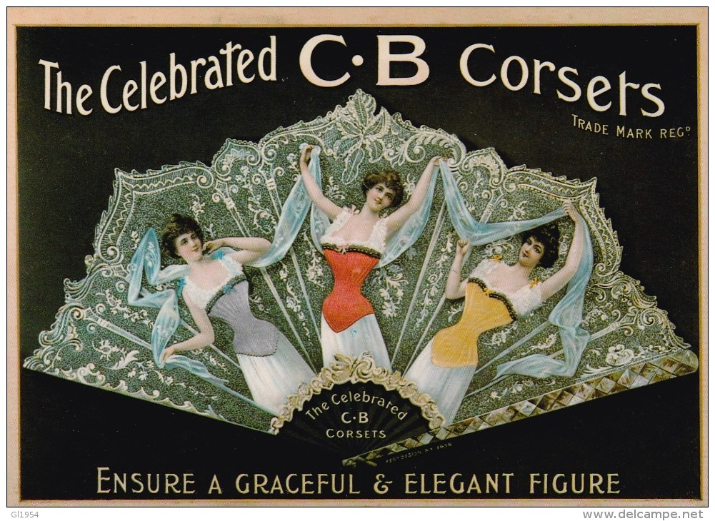 The Celebrated C.C Corsets - Advertising