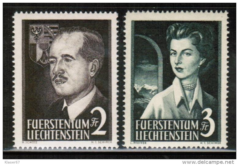 LI 1955 MI 322-23  ** - Liechtenstein
