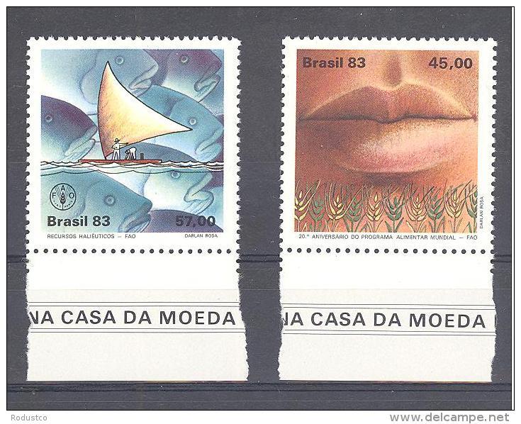Michel #  2000 - 01 **   Brasil 83 - Neufs