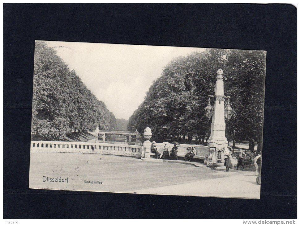 53804   Germania,    Dusseldorf, Konigsallee,  VG 1907 - Duesseldorf