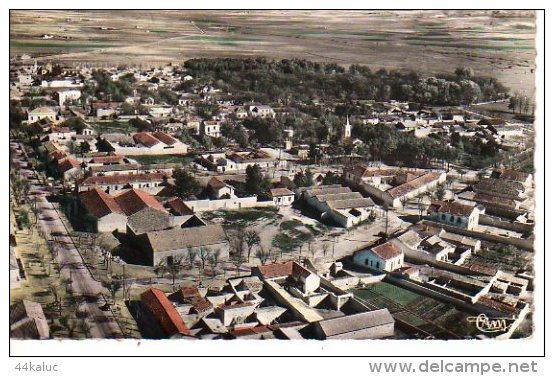 CHATEAUDUN DU RHUMEL VUE SUR LA VILLE (Scan Recto Et Verso) - Autres Villes