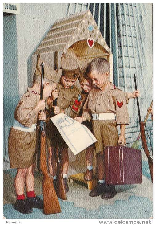 CHILDREN - Child Soldiers - Soldati Bambini - Italy - Enfants