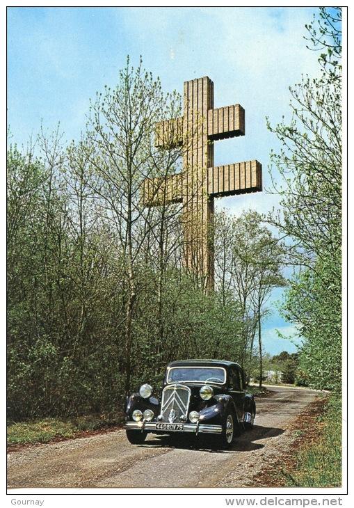 Mémorial Colombey Les Deux églises : Citroën Traction Avant 15 CV Général De Gaulle (1955/1958) - Colombey Les Deux Eglises