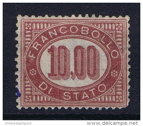 Italia: Service  1875 Sa Nr 8 MH/* - Servizi