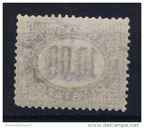 Italia: Service  1875 Sa Nr 8 MH/* - 1861-78 Vittorio Emanuele II