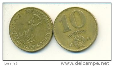 4-1478. Moneda Hungria. 10 Forint 1985. BC - Hungría