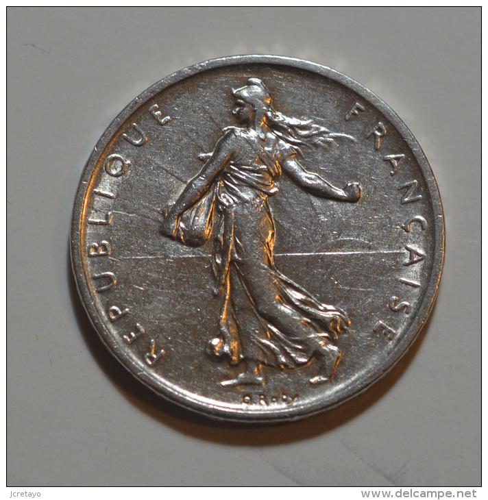 5 Francs Semeuse Argent - France