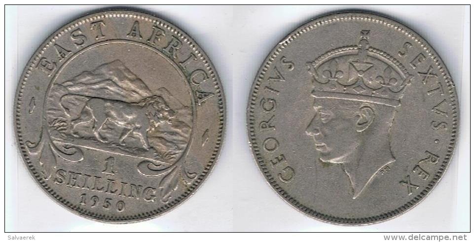 AFRICA DEL ESTE SHILLING 1950 - Monnaies