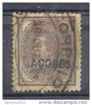 140020181  AZORES  PORTUGAL  YVERT  Nº   34A  D12  1/2 - Azores