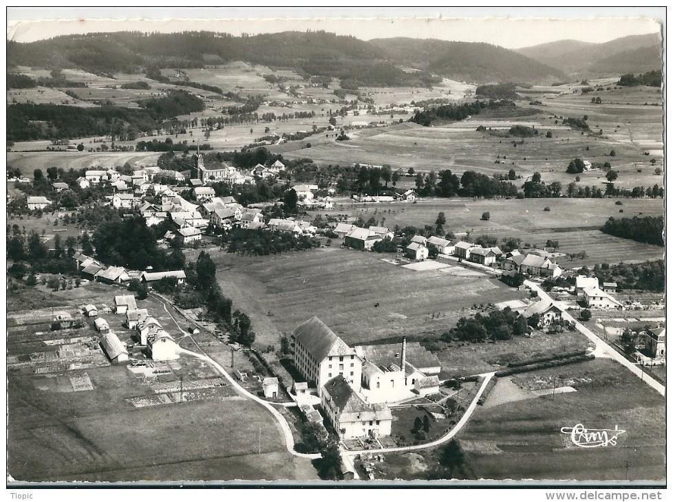 BAN - De - LAVELINE     (  88  )   Vue  Panoramique  Aérienne    -   Carte  S.m  Dentelée - France