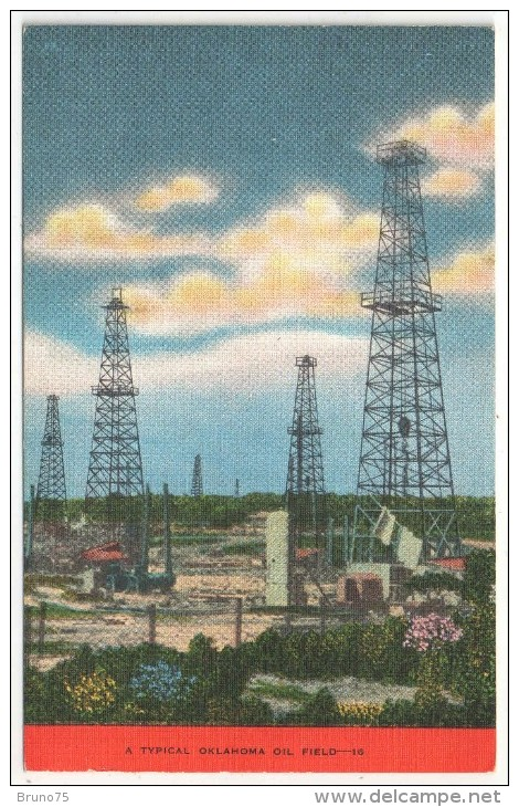 A Typical Oklahoma Oil Field - Non Classés