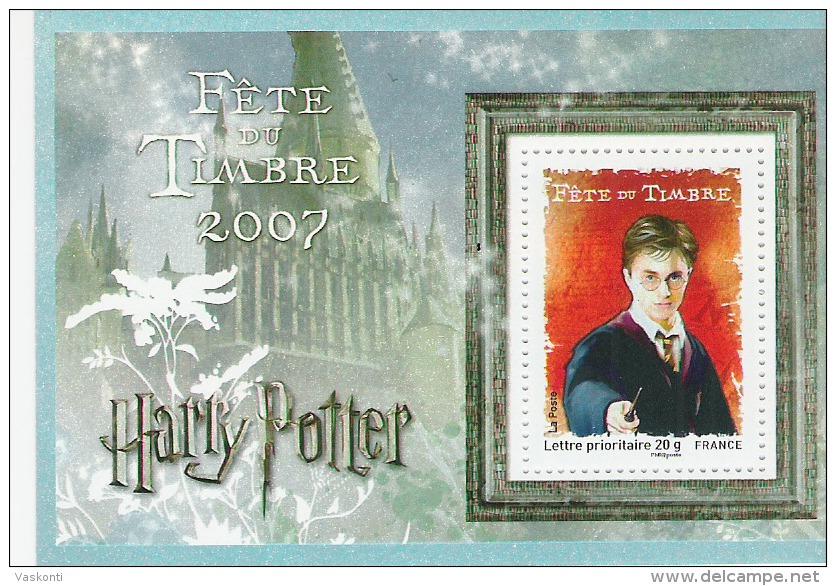 France MNH 2007  Harry Poter S/s - France