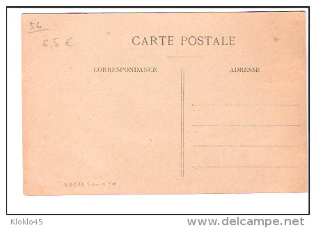 29 CAMPENEAC ( Morbihan ) - Façade De L´Eglise - Femmes à Droite Fagots Sur La Gauche - CPA J . Sorel Rennes - France