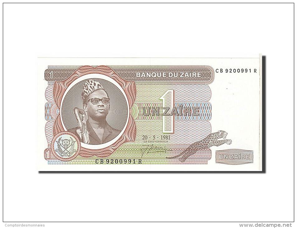 Zaïre, 1 Zaïre Type Mobutu - Zaïre