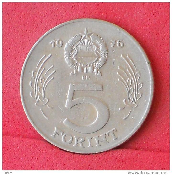 HUNGARY  5  FORINT  1976   KM# 594  -    (Nº11743) - Hongrie