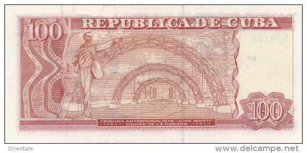 CUBA P. 129 100 P 2013 UNC - Cuba