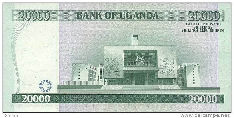 UGANDA P. 46c 20000 S 2009 UNC - Ouganda