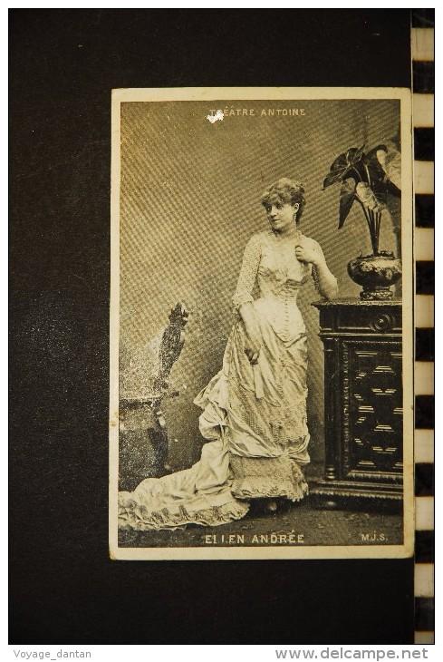 CP, Spectacle, Theatre, Artiste, Theatre Antoine ELLEN ANDREE Edition MJS 1905 - Théâtre