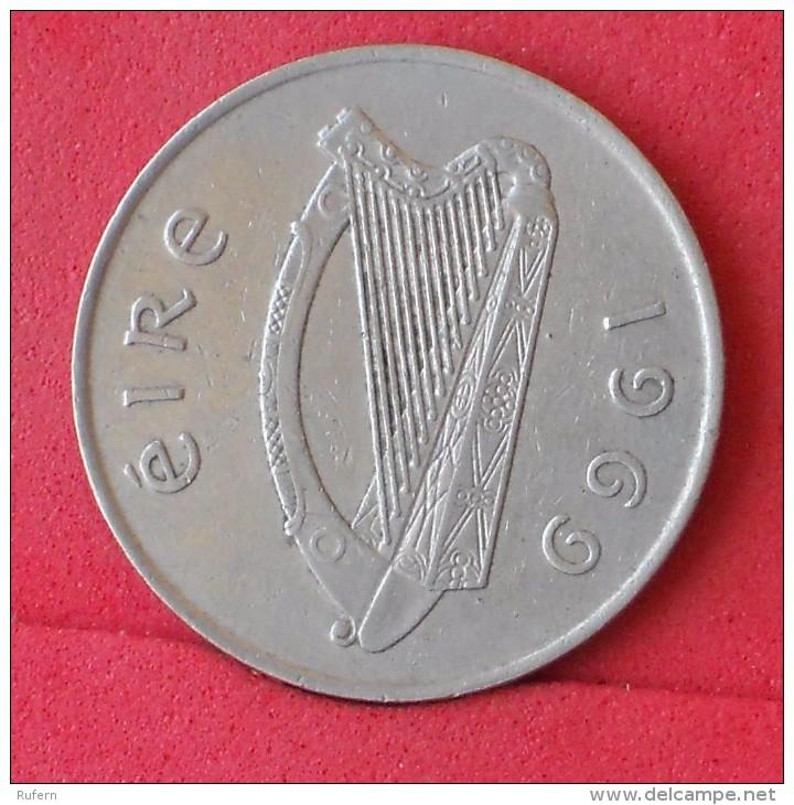 IRELAND  10  PENCE  1969   KM# 23  -    (Nº11749) - Irlande