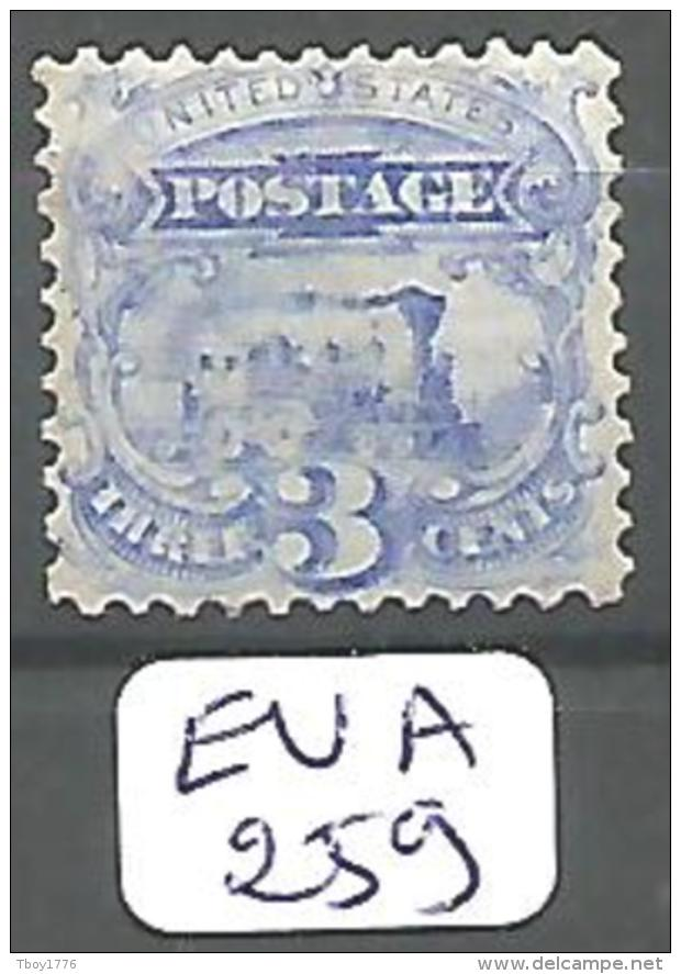 EUA Scott 125 (x) Reissue Without Grill Very Fine RR YT 32a(B) # - Unused Stamps