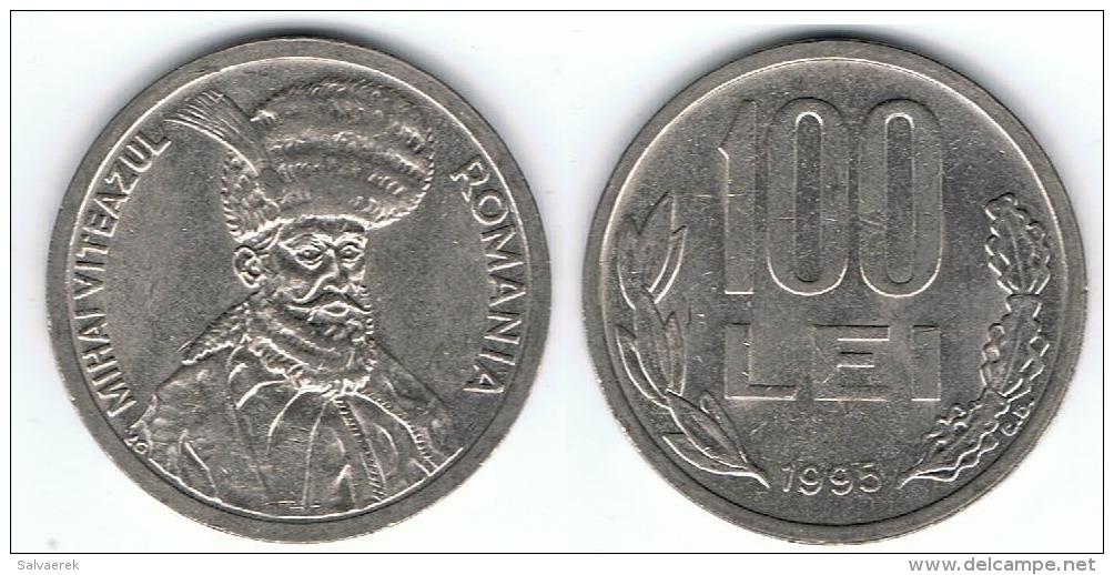 RUMANIA 100 LEI 1995 EBC - Rumania