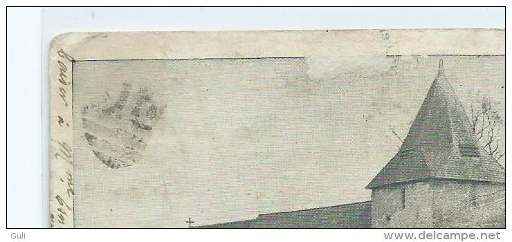 Angleterre- FITTLEWORTH CHURCH. ETAT= Voir Description (Cpa DOS SIMPLE  Année 1904 (District Of Chichester)*PRIX FIXE - Chichester