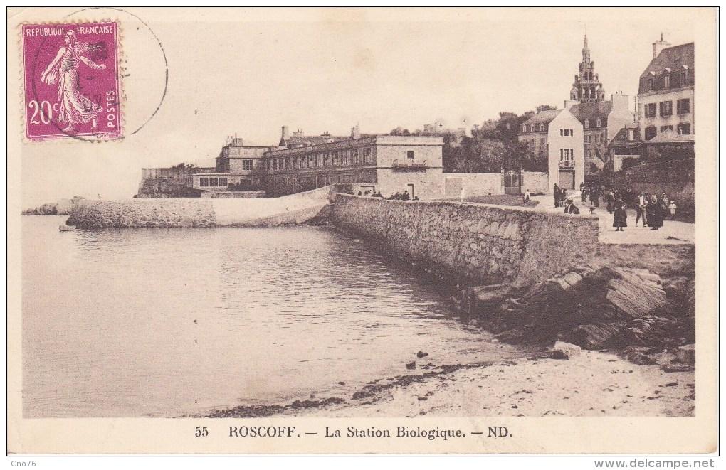 Roscoff La Station Biologique N° 55 - Roscoff