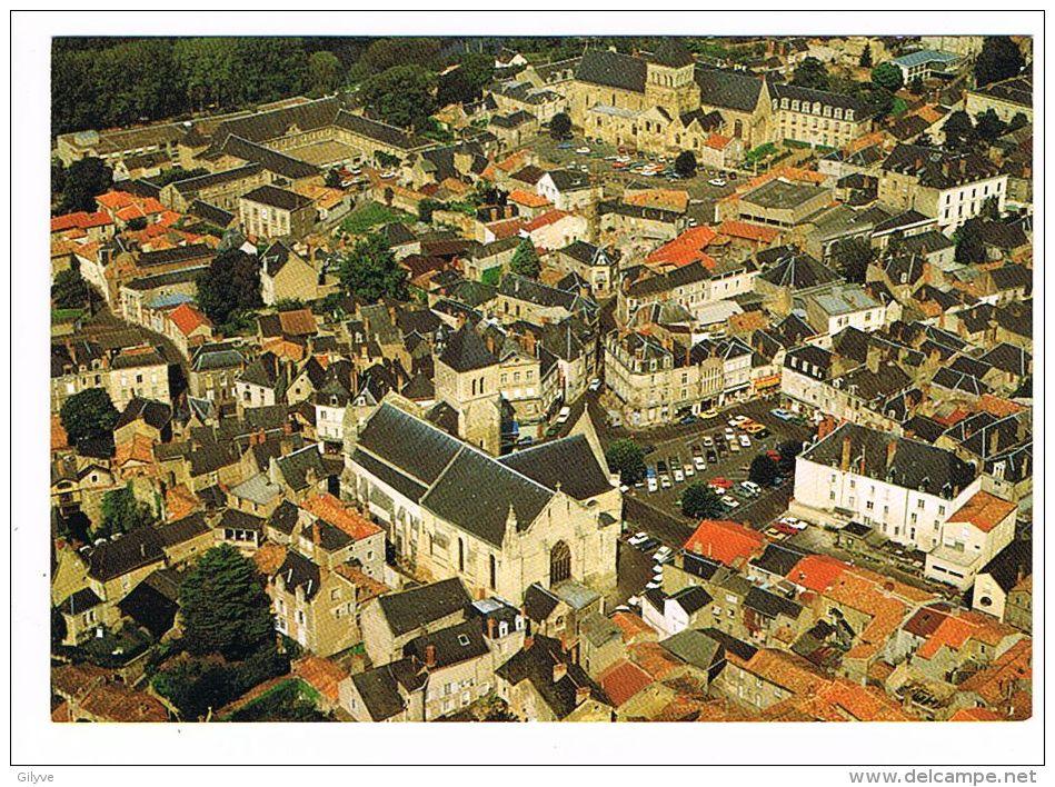 CPSM (79) THOUARS - Vue Aérienne - (130) - Thouars