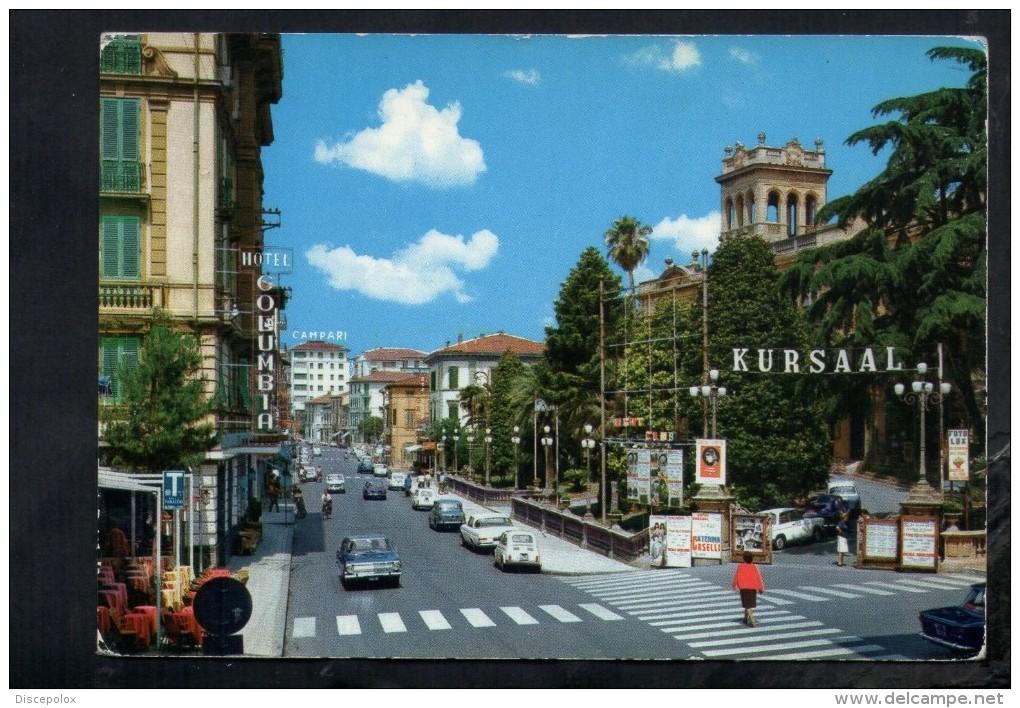 J2459 MONTECATINI TERME ( PISTOIA ) CORSO ROMA CON HOTEL KURSAAL E AUTO CAR VOITURES -MT 76 111 ED. GAM - Altre Città