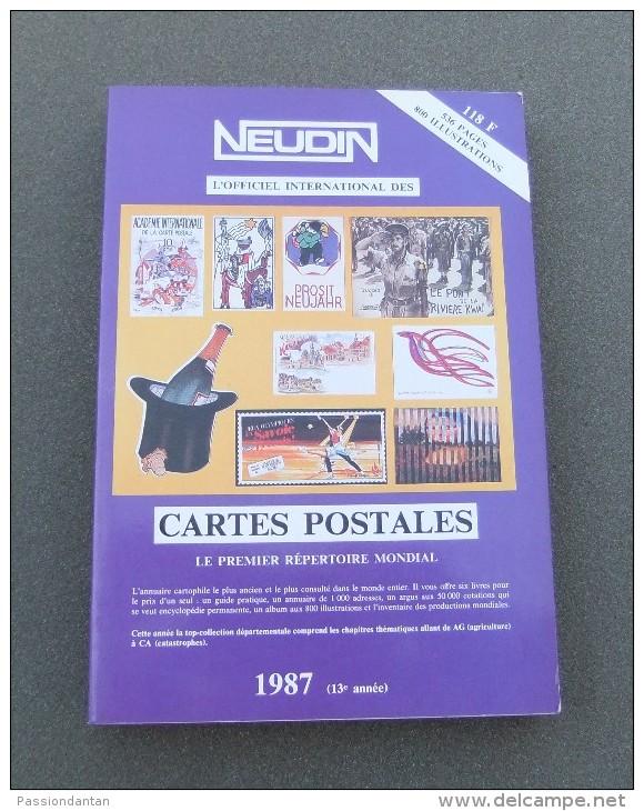 Catalogue Neudin De L´année 1987 - Books