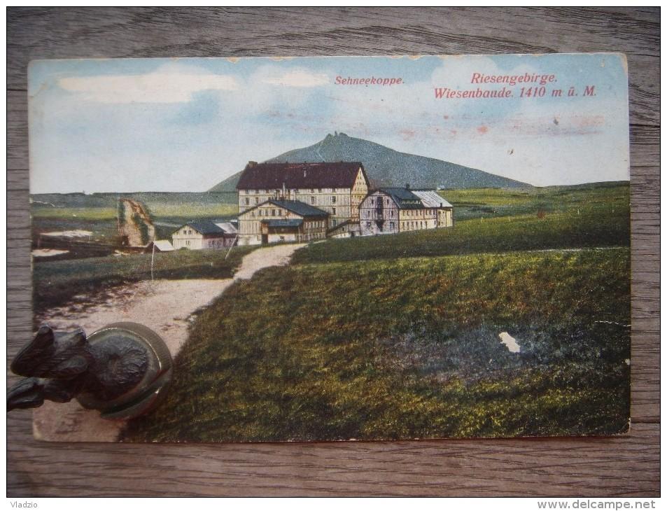 Riesengebirge Wiesenbaude 1410 M - Sudeten