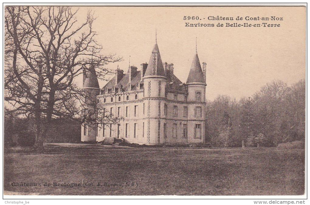CPA Château De Goat En Noz, Envirrons De Belle Ile En Terre (pk18760) - Autres Communes