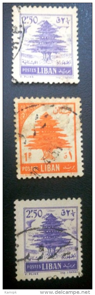 LIBAN USED STAMPS VERY GOOD QUALITY(COLOR VARIETY) - Lebanon
