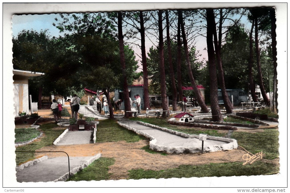 33 - Andernos Les Bains - Le Golf Miniature Du Mauret - Editeur: Renaud N° 60 - Andernos-les-Bains