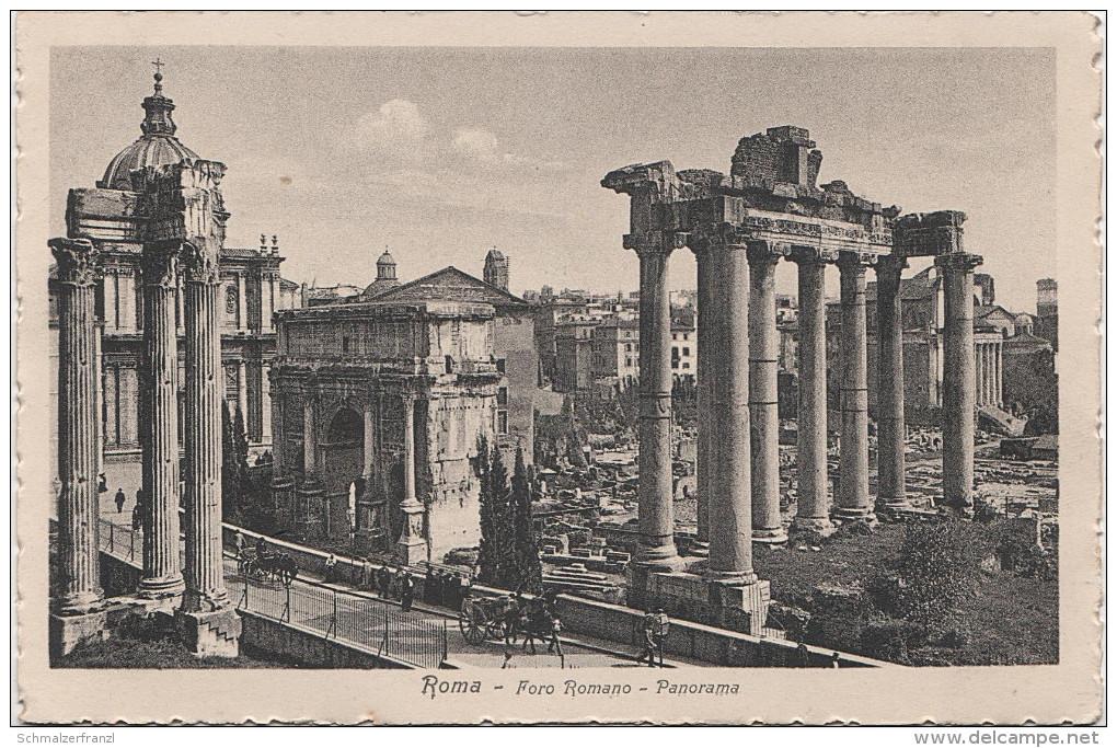 AK Roma Rom Foro Romano Panorama Forum Romanum Italien Lazio Italia - Places & Squares