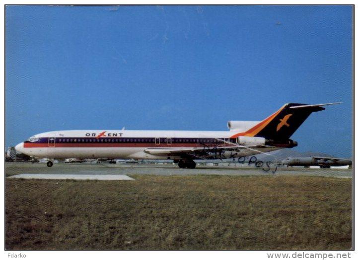 Boeing B727  Air Orient Airlines B.727 Cartes Avion B 727 Avion B-727 - 1946-....: Moderne