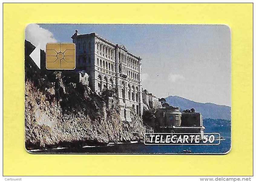 S02 50U TELECARTE MONACO Musée Océanographique (20 000 Ex) - Monaco