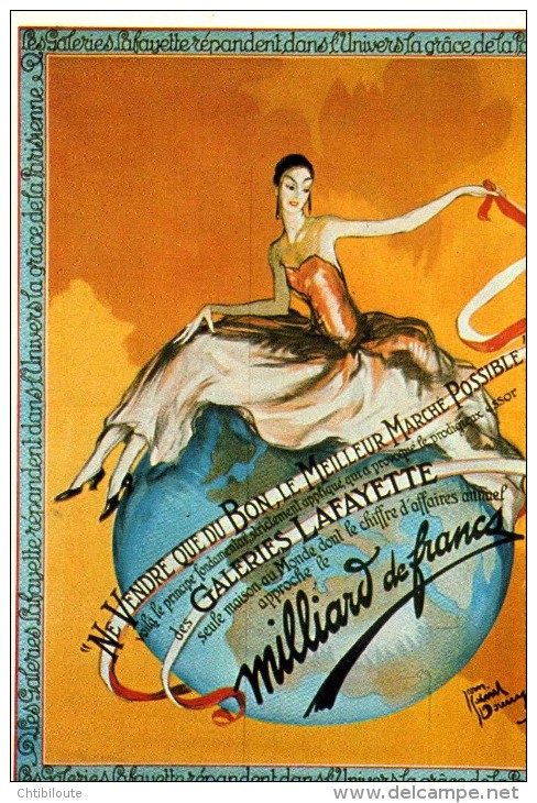 "PUBLICITE   L 18   "" GALERIES LAFAYETTE  ED NUGERON  J 50      CPM / CPSM  10X15 - Werbepostkarten"